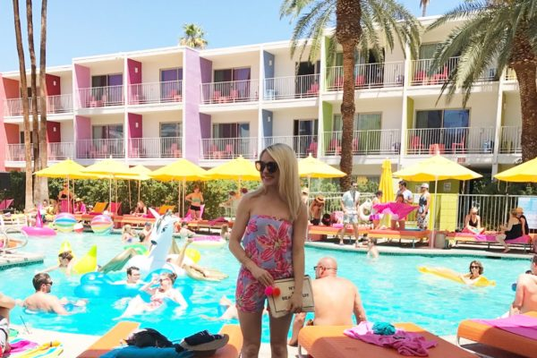 A DAY AT THE SAGUARO PALM SPRINGS