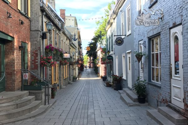FIRST DAY IN QUEBEC CITY